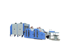 Artificial Fur Carding Machine