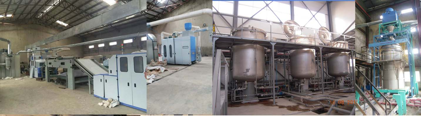 Absorbent Bleached Cotton Machine